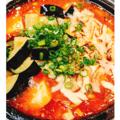 料理メニュー写真石焼麻婆豆腐ご飯~onナスとろーりチーズ~