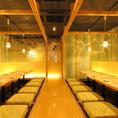 ◆8~32名様向き掘りごたつ個室◆最大32名様まで個室♪広々としたご宴会広間で各種のご宴会もお任せください。飲み放題付のご宴会コースとあわせてのご予約がおすすめです。札幌駅より徒歩1分にあるウメ子の家でスムーズなご宴会が可能です。