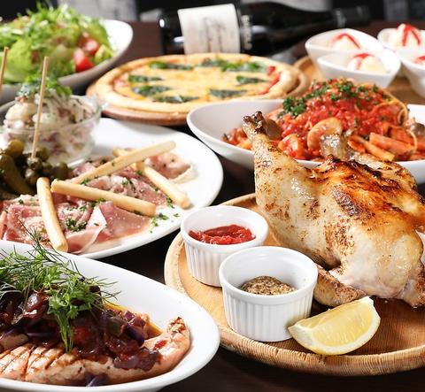 浅草雷門の本格イタリアン!季節の食材やお肉を使った絶品グルメをご堪能ください☆