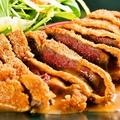 料理メニュー写真ICHI 自慢のオリーブ牛 ビフカツ