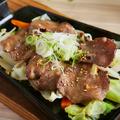 料理メニュー写真牛タン葱風味焼き