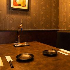 2名様~OKの個室はおこもり感たっぷりで大人気◎デートにもおすすめです♪