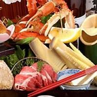 【青い海海鮮焼コース】6000円(飲み放題付)