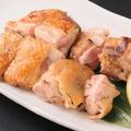 料理メニュー写真名古屋コーチンもも肉の岩塩焼き