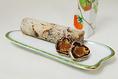 かきすが1,200円[税込]奈良特産の柿に柚子を巻き込んだお菓子です。かすかな甘みと柚子皮の酸味を生かし、いかにも奈良らしいほのかな味わいにしたてております。