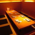8名様の完全個室。周りを気にせず、自分だけの寛ぎ和空間を…