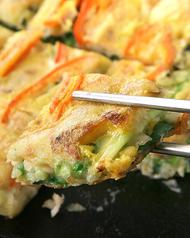 料理メニュー写真海鮮チヂミ/ケールチヂミ