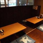 2階の人気の掘り炬燵席