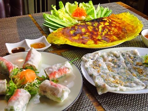 ベトナム人シェフが作る本格ベトナム料理に舌鼓。ビールマイスターも在籍する店。