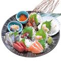 料理メニュー写真刺身:大皿盛り