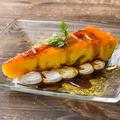 料理メニュー写真北海道産かぼちゃのカタラーナ 黒蜜ソース