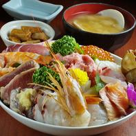 一番人気「海鮮丼」