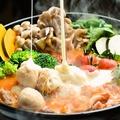 料理メニュー写真トマトとチーズのとろ~り鍋