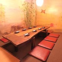 ≪2~14名≫掘りごたつ☆テーブル☆カウンター☆半個室
