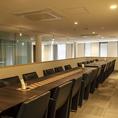 個室は最大24名様までOK!食事会のご利用に最適です。会議や研修などもご利用も可能です♪