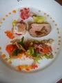料理メニュー写真オードブル(コースの一部)