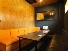 VIP席は個室にすることもでき貸切も可能!