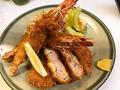 料理メニュー写真海老とソフトヒレカツ定食