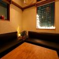 完全個室のテーブル席は4~8名様でご利用いただけます