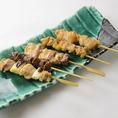 皮内地鶏の串焼きは自慢の逸品!ぜひ一度ご賞味あれ♪また秋田名物メニューも多数ご用意しております。