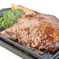 料理メニュー写真やわらか牛ステーキ鉄板焼き ~和風ステーキソース~