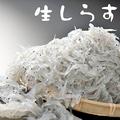 料理メニュー写真生シラス/刺身 親子盛り/しらすおろし/玉子とじ/天ぷら/生シラス飯