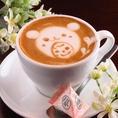 《ドリンクメニューも豊富にご用意♪》カフェ使いにもディナー利用にもぴったり!