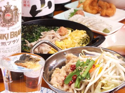 東京小岩の立ち飲みやで本場下関の美味しい料理とお酒を堪能出来ます!