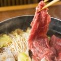 料理メニュー写真氷見牛のすき焼き