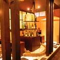 秋田の地酒や特選焼酎など酒類豊富。日替わり店長のおすすめ地酒も多数取り揃えております。お料理と共にお愉しみ下さいませ。
