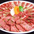 料理メニュー写真【 ファミリー盛合せBIG620 】 (国産牛&厳選牛・お肉620g) 4~5名様向け