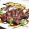 十勝牛ステーキのバルサミコソース(根菜添え)
