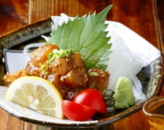 琉球(鮮魚刺のしょうが醤油漬け)