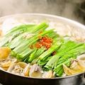 料理メニュー写真期間限定★あさり入りもつ鍋(塩とんこつ味)