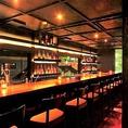 【新潟駅徒歩3分■Bar■大人の隠れ家的居酒屋「ICHIE」の趣向を凝らしたこだわりのお席ご紹介】ディナーコースご利用のお客様はお食事のあとドルチェとドリンクをこちらのバーカウンターにてお楽しみ頂けます。お料理のみならず、デザートにもドリンクにも当店のこだわりを感じて頂けることと思います。