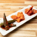 料理メニュー写真キムチ3種盛