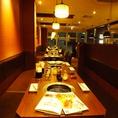 歓送迎会に焼肉宴会はいかがですか?24名様までOKのテーブル席です。