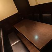 6~8名様用ソファーテーブル個室♪