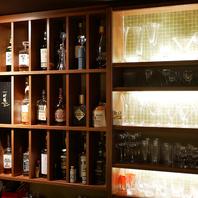 ◆お客様満足を駆使したお酒とグラスの品揃え◆
