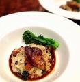 料理メニュー写真フレッシュフォアグラと茸とトリュフのリゾット