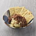 料理メニュー写真挽肉たっぷりポテトサラダ