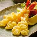 料理メニュー写真エビのニンニクマヨネーズ