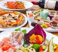 【女子会に】120分飲み放題&pizza食べ放題3480円