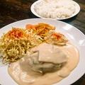 料理メニュー写真アメリカンハンバーグ定食