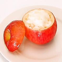 料理メニュー写真アップルシャーベット