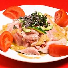 料理メニュー写真イベリコ肩ロースの冷製しゃぶしゃぶサラダ