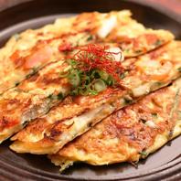 お酒にも合う韓国料理も豊富にご用意◎