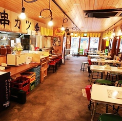 串カツ拳 伝承店 静岡ゴールデン横丁の雰囲気1
