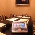 個室のお席にはカラオケも完備しております!!西麻布・六本木・麻布十番などで個室、和食・創作料理なら是非当店へ♪