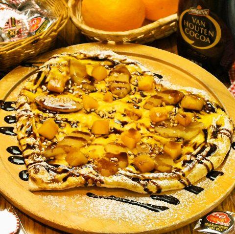 キュートなハート型のピザは、誕生日や記念日デート、バースデーパーティのサプライズにぴったり♪お気軽にご注文ください!季節限定料理やピザもご提供しております、是非新しい風味をご賞味あれ!!